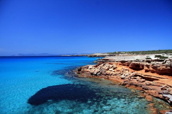 playas Cala Saona 1 - Formentera, una aventura bajo el mar