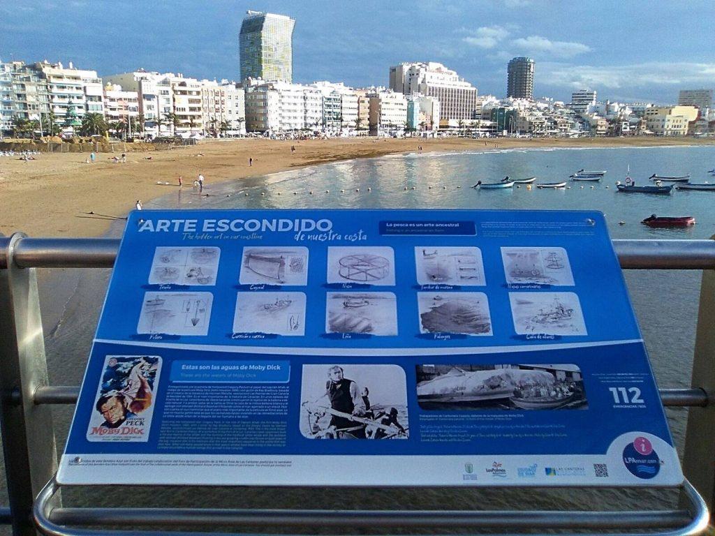 sendero azul 1024x768 - Los encantos del barrio de La Isleta, Las Palmas de Gran Canaria