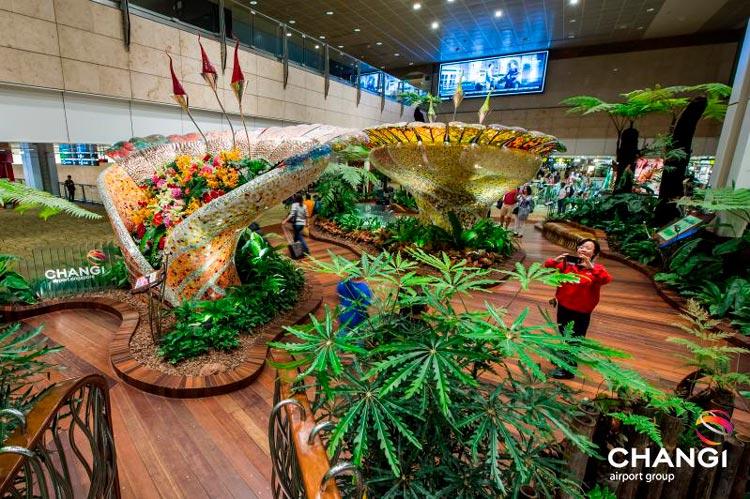 Changi Singapore 2 Aeropuerto - Los 5 aeropuertos más bonitos del mundo: Barajas en el ránking