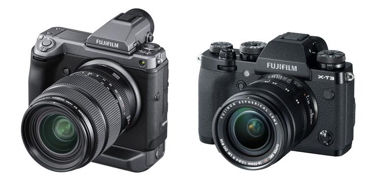 Fujifilm GFX100 XT3 camaras - FUJIFILM GFX100 y FUJIFILM X-T3, premiadas en los Premios EISA 2019