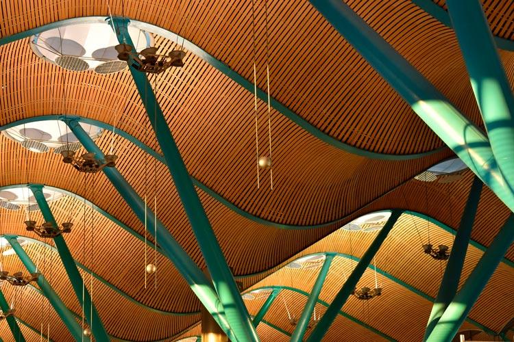 Madrid Barajas airport Aeropuerto - Los 5 aeropuertos más bonitos del mundo: Barajas en el ránking