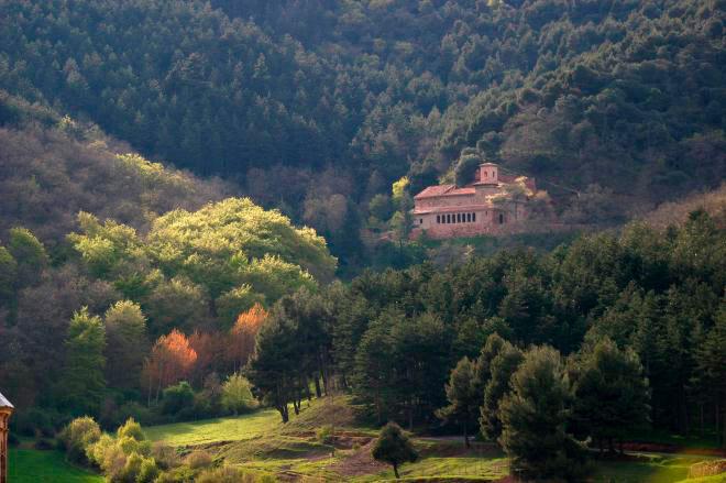 Monasterio de Suso San Millán de la Cogolla La Rioja - Monasterios de Yuso y Suso: Patrimonio de la Humanidad de La Rioja