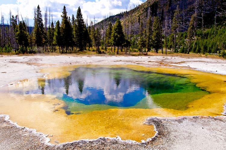 Parque Nacional de Yellowstone Wyoming - 8 rutas y paradas Patrimonio Mundial de Estados Unidos