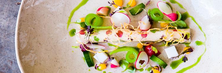 Plato gastronomia crepe vegetal verdura - Descubre la gastronomía de Irlanda