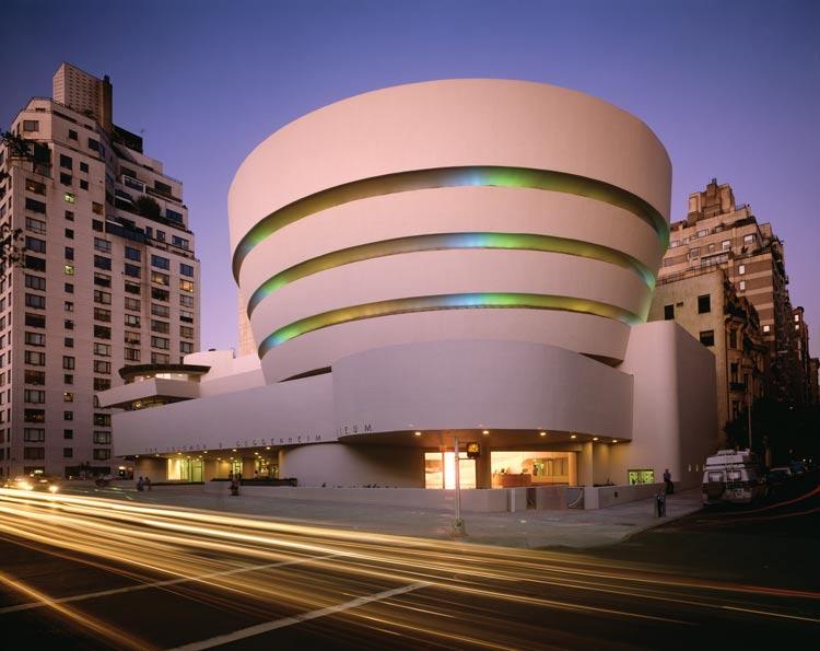 Solomon R Guggenheim Museum photo by David Heald Solomon R. Guggenheim Foundation Estados Unidos EE.UU Patrimonio Mundial Unesco - 8 rutas y paradas Patrimonio Mundial de Estados Unidos