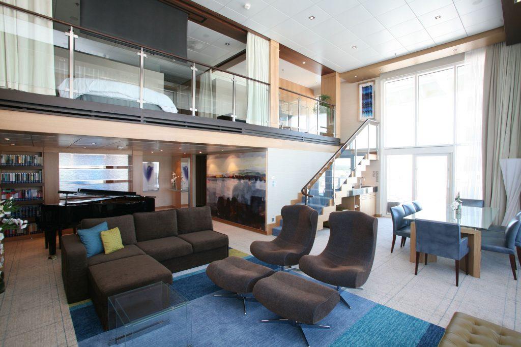 4. Royal Caribbean Royal Loft Suite 2 1024x683 - Las 10 suites de crucero más grandes y lujosas del mundo