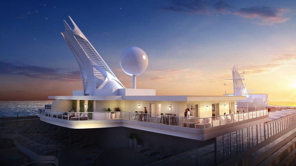 6. Princess Cruises Sky Suite 1 1024x576 - Las 10 suites de crucero más grandes y lujosas del mundo