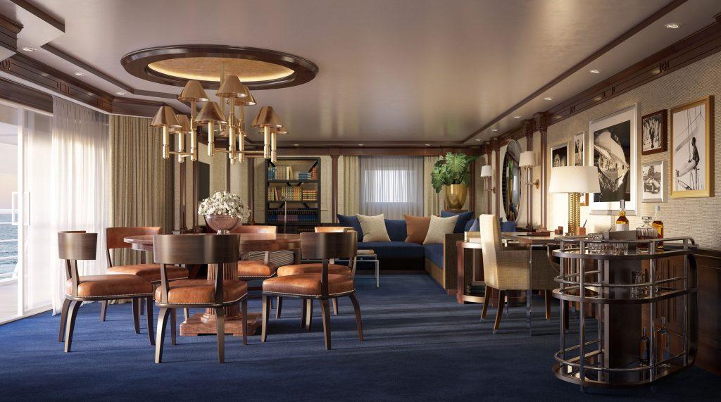 7. Oceania Cruises Owneru2019s Suite 2 1024x571 - Las 10 suites de crucero más grandes y lujosas del mundo