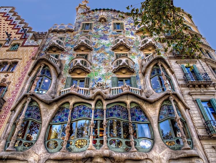 Casa Batllo Barcelona © Paco Calvino - Semana Mundial de la Arquitectura: 5 edificios únicos de Europa