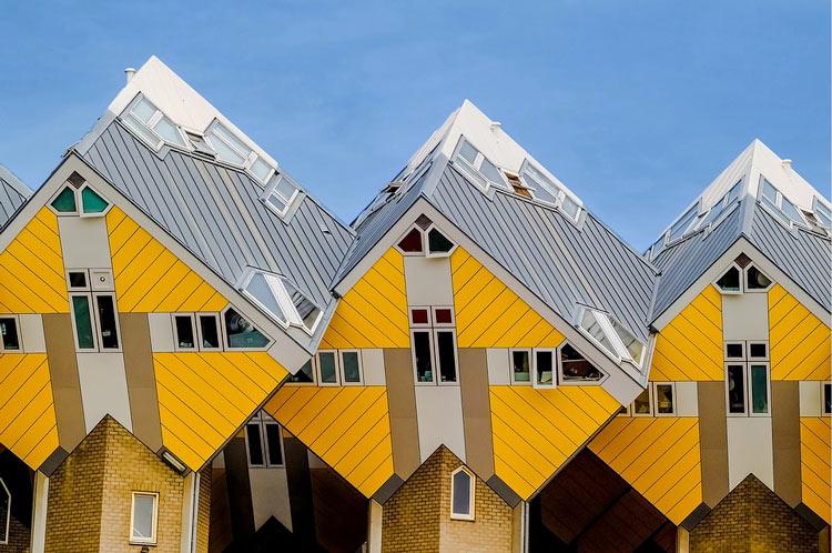 Casas cubo Rotterdam Holanda © Mad Pixel - Semana Mundial de la Arquitectura: 5 edificios únicos de Europa