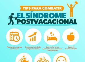 Infografia Tips para combatir el sindrome postvacacional 300x220 - Revista Más Viajes