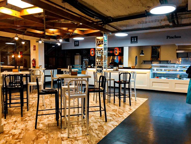 Mercado de Sanse instalaciones1 - Un nuevo espacio gastronómico que hace furor, el Mercado de Sanse