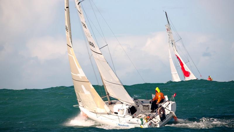 Minitransat - Llega a Las Palmas de Gran Canaria la gran prueba náutica de los navegantes en solitario