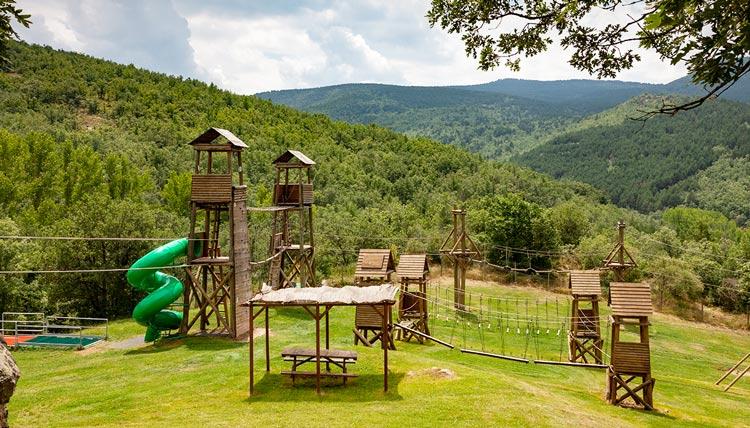 "Parque Aventura Sierra de Cameros La Rioja 1 - Actividades de aventura en el Parque ""Sierra de Cameros"", en La Rioja"