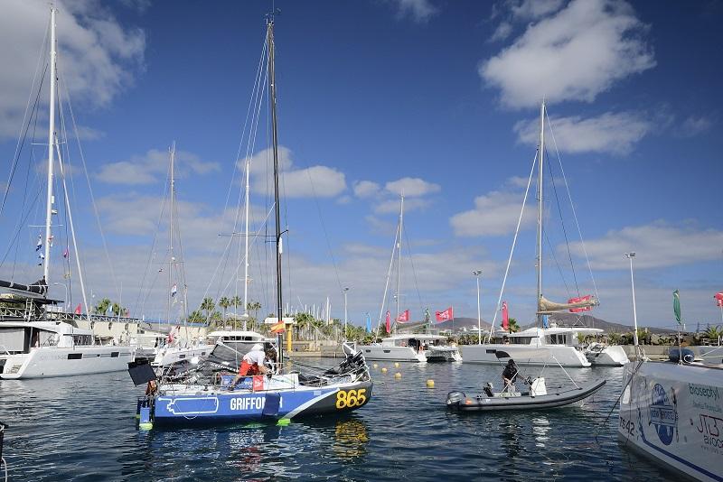 Salida de La Minitransat 27 - Llega a Las Palmas de Gran Canaria la gran prueba náutica de los navegantes en solitario