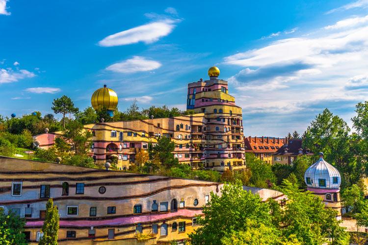 Waldspirale Darmstadt Alemania © Kiefer - Semana Mundial de la Arquitectura: 5 edificios únicos de Europa
