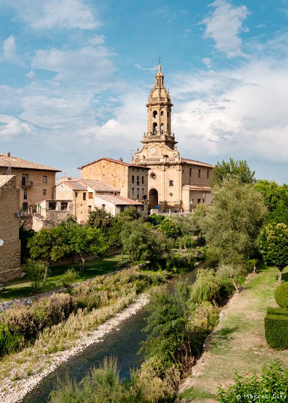 Cuzcurrita del rio Tiron La Rioja Iglesia Pueblo © Marcos Cifo DSF0013 - La Rioja, 'un espectáculo sensorial'