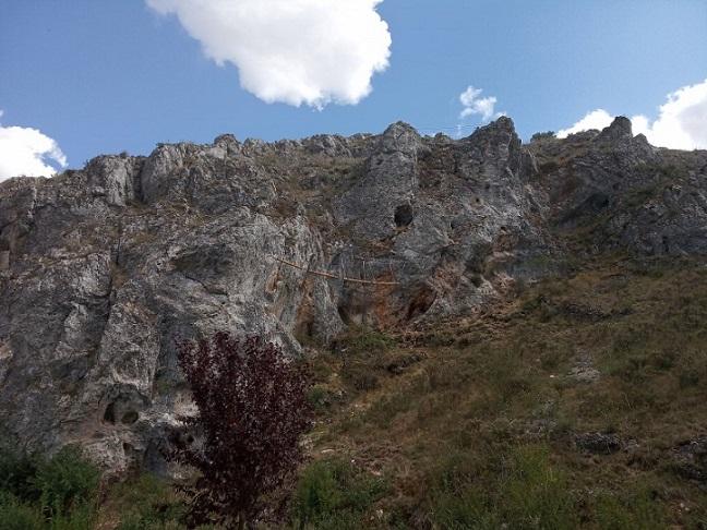 FormatFactoryIMG 20190820 160113 - Huerta del Rey inaugura una nueva vía ferrata en la provincia de Burgos