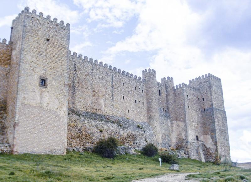 Castillo de Sigüenza Atienza españa - La Ruta del Cid Campeador, huellas de mito y realidad