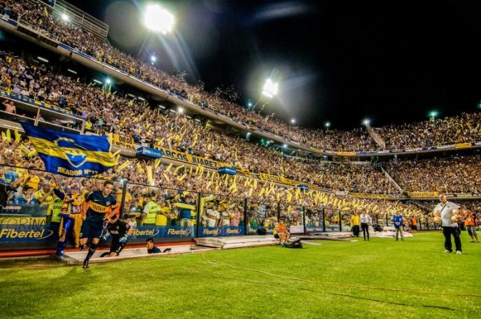 """La Bombonera BocaJr estadio futbol - Buenos Aires, la """"París de América"""""""