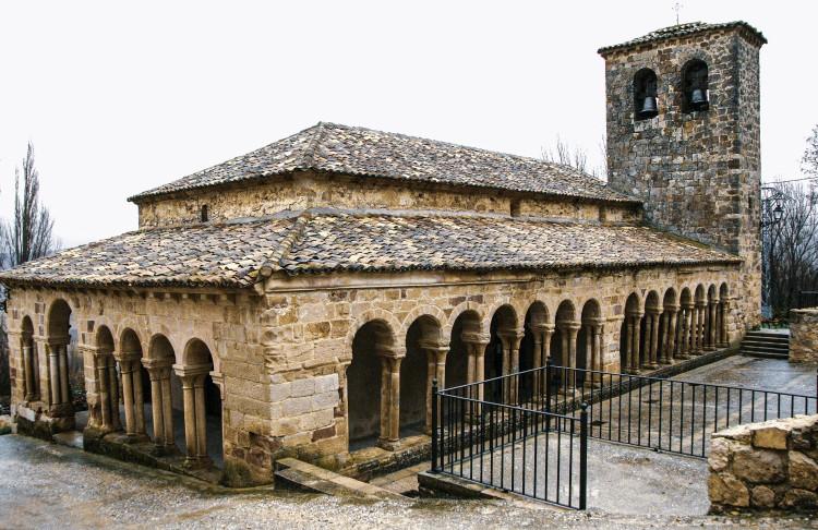 carabias sigccenza guadalajara iglesia del salvador atienza españa - La Ruta del Cid Campeador, huellas de mito y realidad