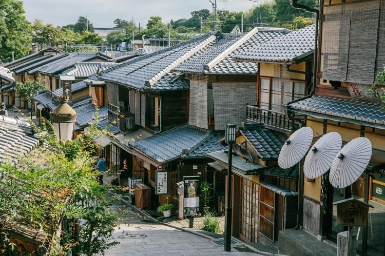 ninenzaka kyoto calle - Kioto el destino MICE más fascinante de Asia