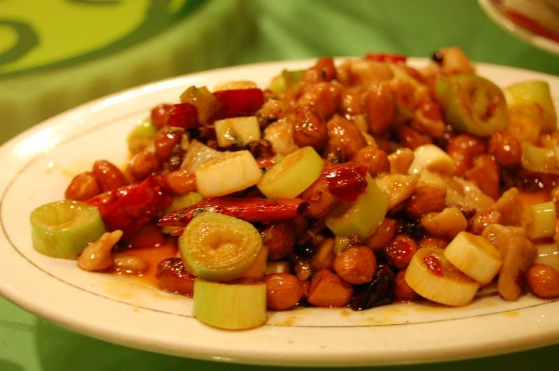 pollo kung pao tradicional comida plato china - La gastronomía china se viste de gala ante la Organización Mundial de Turismo