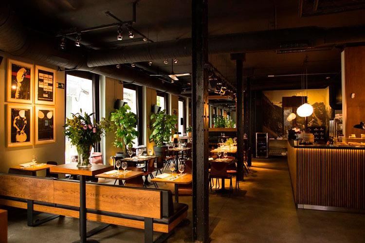 salon comedor diurno restaurante - Un menú de altura y personalidad para diciembre, en Diurno