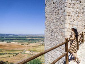vista desde el castillo de jadraque 300x225 - La Ruta del Cid Campeador, huellas de mito y realidad