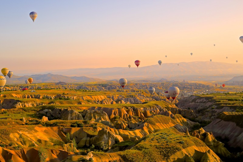 Capadocia globos Turquía - Ideas originales y atractivas para dar la bienvenida a 2020 lejos de casa