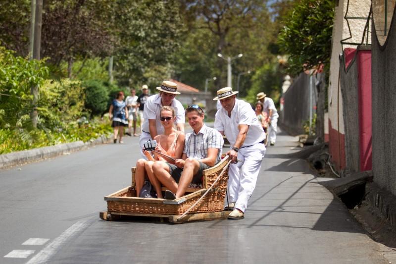 Carreiros do Monte: una atracción que transporta al pasado de Madeira