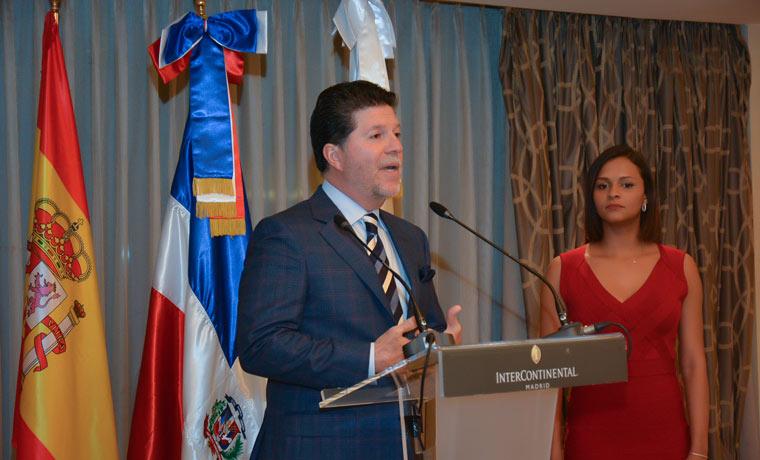 Luis Ros de la ADG - Rep. Dominicana: una oda a la cultura gastronómica caribeña en España