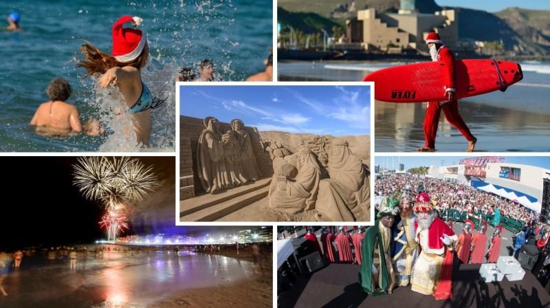Montaje NdP Navidad LPA - Navidades en las Palmas de Gran Canaria