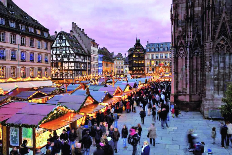 Plaza de la Catedral @Christophe Hamm - Mercados navideños históricos