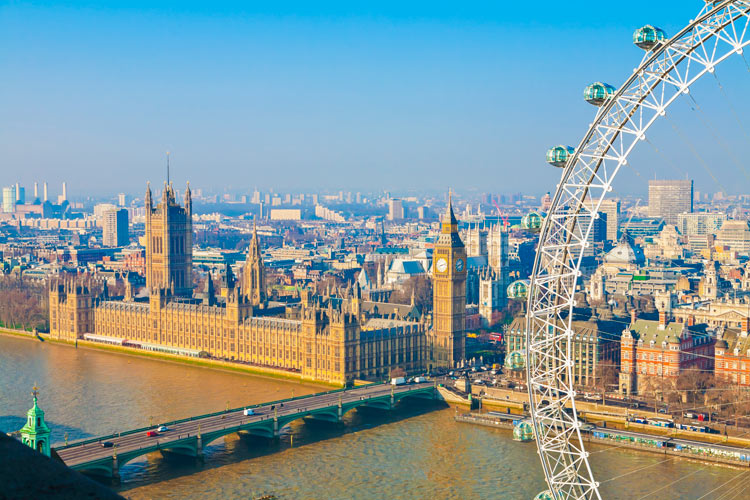 Vistas del Támesis Big Ben y London Eye © Pawel Libera Visit Britain - LONDRES… en un día