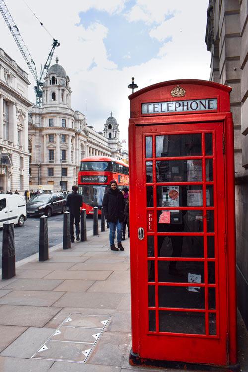 cabina telefonica londres © Pedro Abel Adalia - LONDRES… en un día