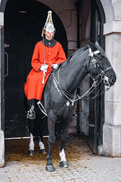 guradia caballo © Pedro Abel Adalia - LONDRES… en un día