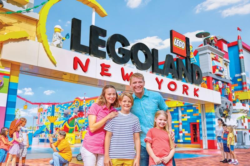 legoland new york entrance - Estados Unidos en 2020: lo que no puedes perderte