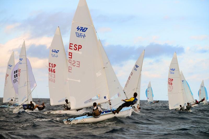semana olimpica de Vela - Surf y vela, protagonistas durante el Puente de Diciembre en la capital grancanaria