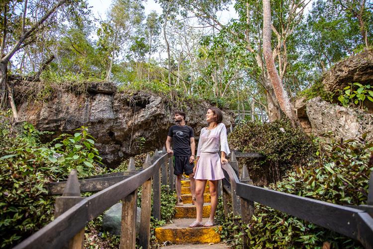 """Bosque a la entrada de la cueva de Saturno Matanzas - Fotos de: """"Varadero, una playa con múltiples encantos"""""""