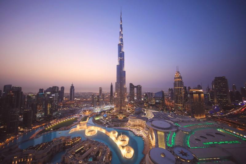 Burj Khalifa edificio dubai - El edificio más alto del mundo, el Burj Khalifa, cumple 10 años