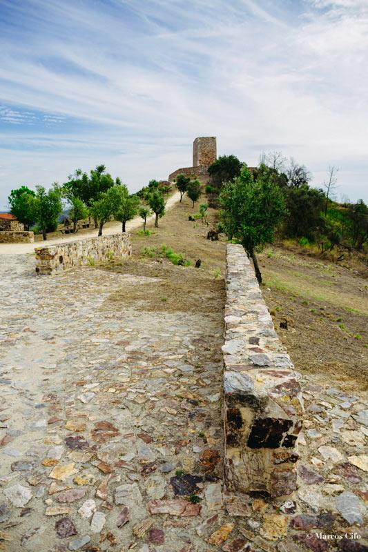 """Castelo do Rey Vamba Castelo Branco Portugal © Marcos Cifo - Fotos de: """"Castelo Branco, una ventana al pasado"""""""