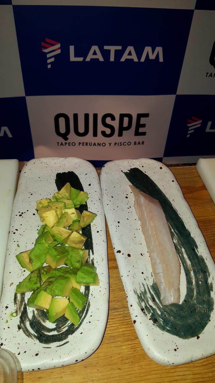 Latam Quispe platos gourmet - La gastronomía peruana actual aterriza en Madrid de la mano de LATAM Airlines