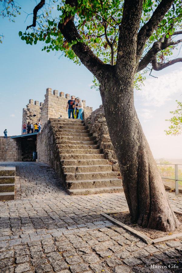 """Murallas del castillo Castelo Branco Portugal © Marcos Cifo - Fotos de: """"Castelo Branco, una ventana al pasado"""""""