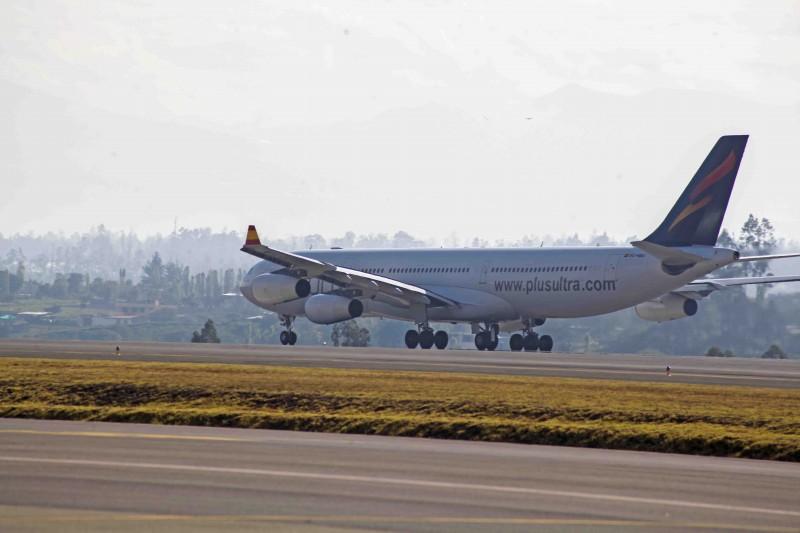Plus Ultra Líneas Aéreas Avión - Plus Ultra Líneas Aéreas presenta en FITUR su nueva conexión con Colombia
