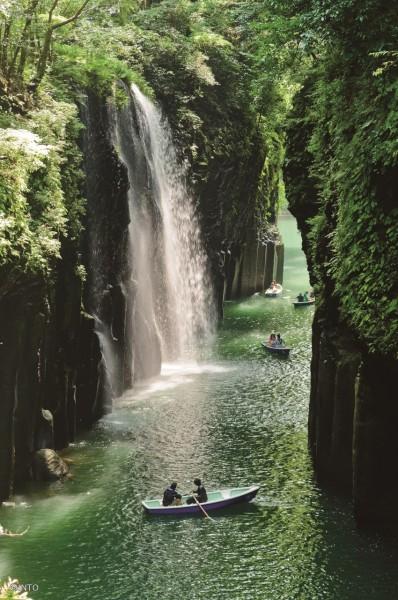 Takachiho rio cascada - Miyazaki, un destino con aura para 2020