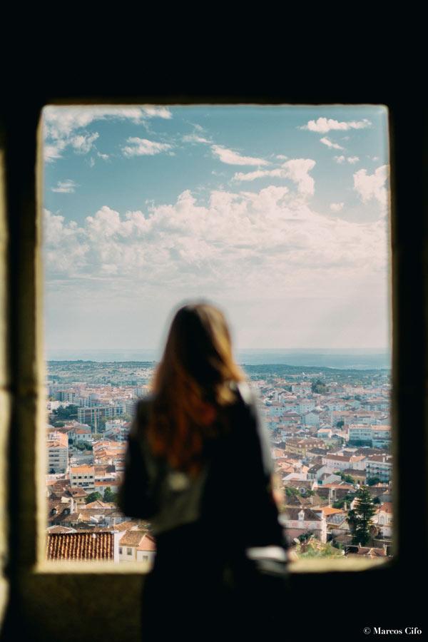 """Vistas desde el castillo Castelo Branco Portugal © Marcos Cifo - Fotos de: """"Castelo Branco, una ventana al pasado"""""""