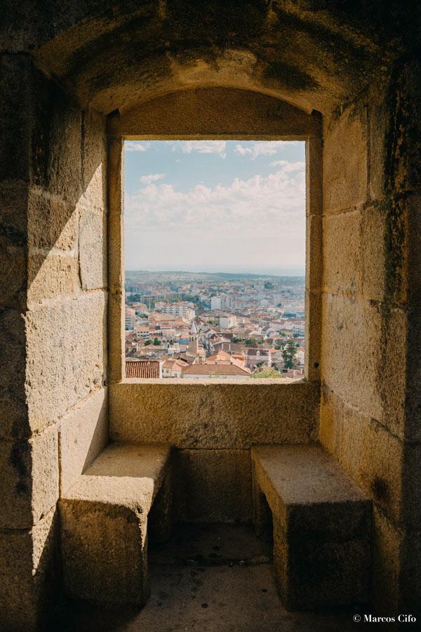 """Vistas desde el castillo Castelo Branco Portugal 2 © Marcos Cifo - Fotos de: """"Castelo Branco, una ventana al pasado"""""""