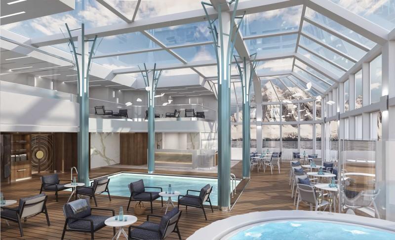 crucero Crystal Endeavor Solarium day Highres - StarClass presenta los buques que vendrán en 2020