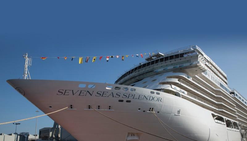 crucero splendor seven seas  - Regent Seven Seas Cruises da la bienvenida a su nuevo buque, Seven Seas Splendor